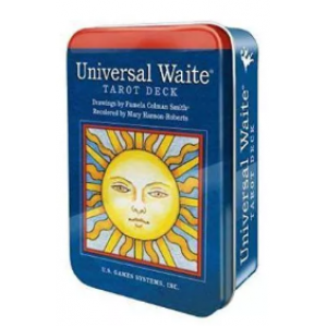 Universal Waite Tarot Pocket in Tin