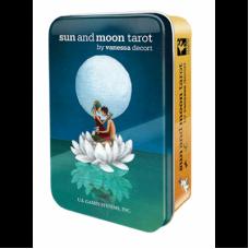 Sun and Moon Tarot Солнца и Луны таро в жестяной коробке