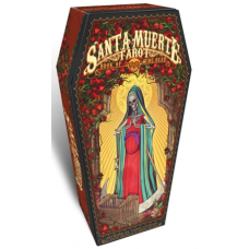 Santa Muerte Tarot Святая смерть лимитированная с коробкой-гробиком