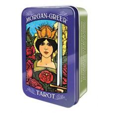 Morgan-Greer Tarot Моргана-Грира Таро в жестяной коробке