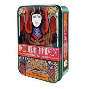 Aquarian Tarot Водолей Таро в жестяной коробке