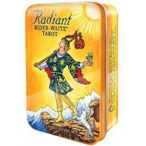 Radiant Rider Waite in a Tin